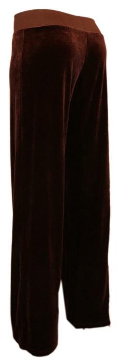Bars Womens Trousers Dark Brown 84 M