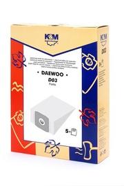 Tolmuimeja filtrid LT D03 Daewoo RC300, 5 tk.