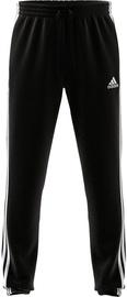 Adidas Essentials Tapered Elastic Cuff 3 Stripes Pant GK8829 Black 2XL