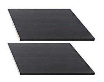 Black Red White Nepo 3D2S Shelves Wenge