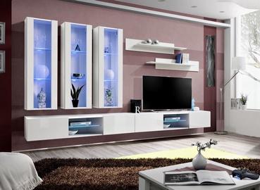 ASM Fly Q3 Living Room Wall Unit Set White