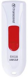 USB флеш-накопитель Transcend JetFlash 590 White, USB 2.0, 32 GB