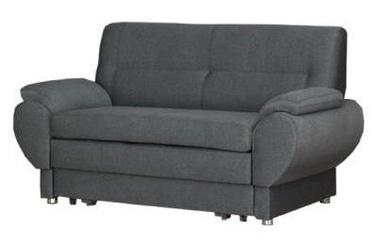 Диван-кровать Bodzio Livonia 2 Gray, 154 x 76 x 89 см