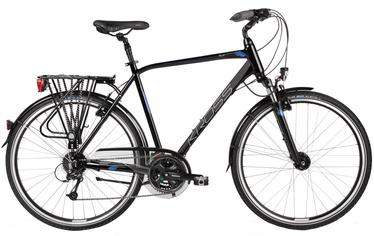 "Jalgratas Kross Trans Alp XL 28"" Black Blue Glossy 17"