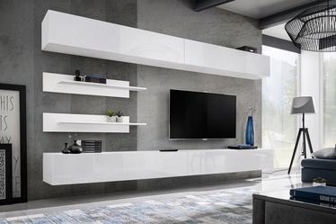 ASM Fly I Living Room Wall Unit Set White