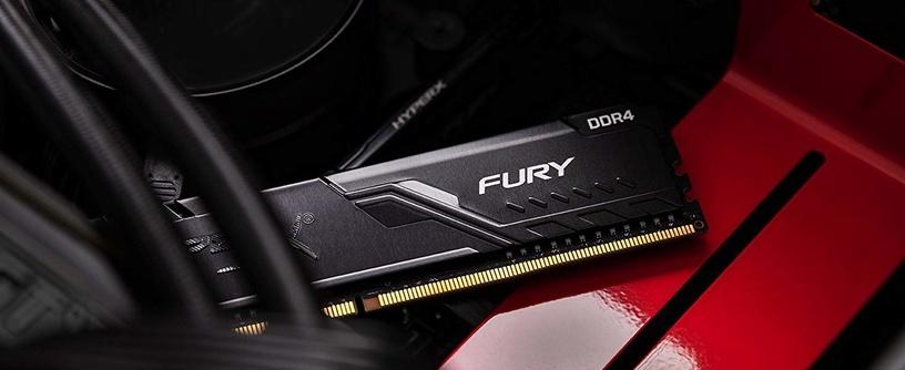 Operatiivmälu (RAM) Kingston HyperX Fury Black HX426C16FB3/4 DDR4 4 GB