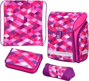Herlitz Midi Plus Pink Cubes 50022083