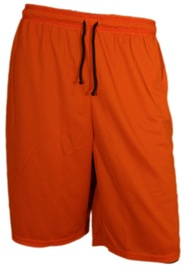Bars Mens Basketball Shorts Dark Blue/Orange 178 XL