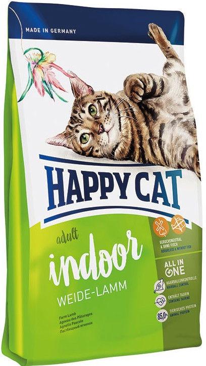 Happy Cat Indoor Meadow Lamb 10kg