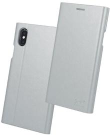 Beeyo Grande Book Case For Apple iPhone 7/8 Silver