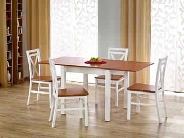 Обеденный стол Halmar Gracjan Sonoma Oak/White, 800 - 1600x800x760 мм
