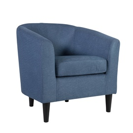 Home4you Wester Armchair Blue