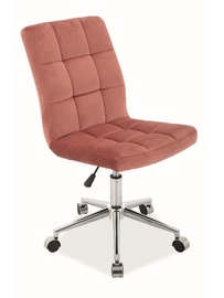 Signal Meble Q-020 Office Chair Antique Pink
