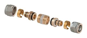 TDM Brass Demountable Threaded Joint D18mm 1440E