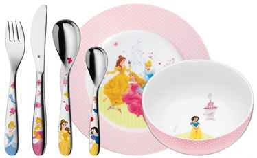 WMF Children's Cutlery Set 6-piece Disney Princess