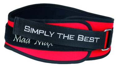 Mad Max Simply the Best Belt Red S
