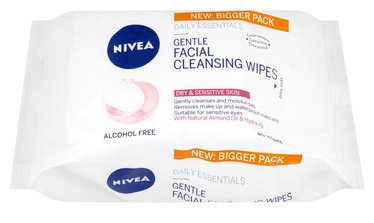 Nivea 3in1 Gentle Cleansing Wipes 40pcs