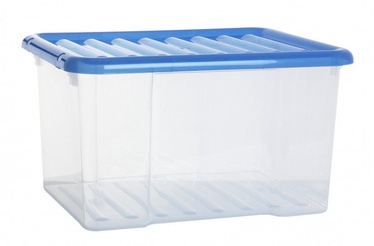 Plast Team K-Box With Lid 50.7x44.9x30.4cm 48l