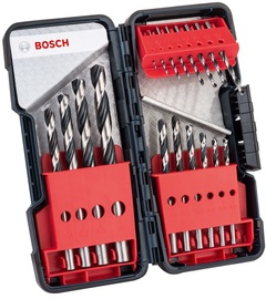 Bosch 2608577350 HSS PointTeQ Metal Drill Bit Set 18pcs