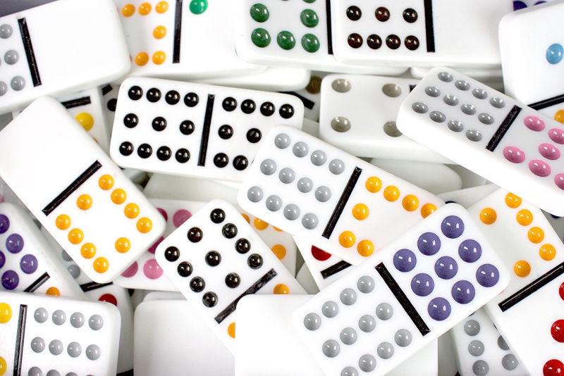 Tactic Double 9 Domino 53914