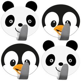 Konks Tatkraft Pandas & Penguins, 55 mm x 55 mm