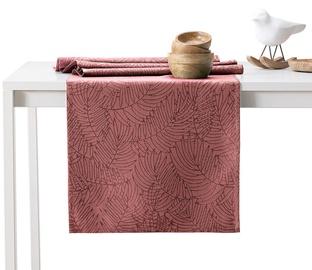 AmeliaHome Gaia AH/HMD Tablecloth OldRose 30x80cm