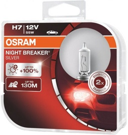 Osram Night Breaker Silver H7 55W 12V Duo