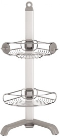 Simplehuman Corner Shower Caddy BT1064