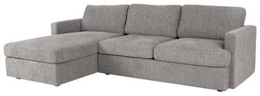 Угловой диван Home4you York LC 21702, серый, левый, 256 x 163 x 85 см