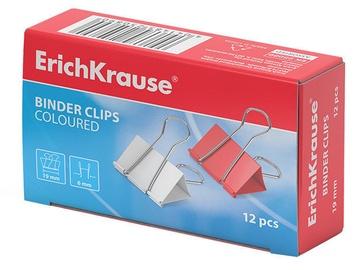 ErichKrause Binder Clips Coloured 19mm 12pcs