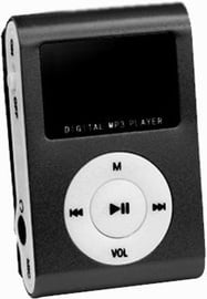 Setty MP3 Super Compact Music Player Black