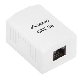 Lanberg UTP Data Box 1 Port Unshielded CAT5e