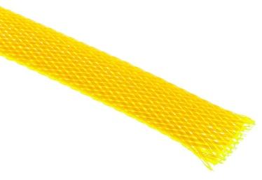 Techflex Flexo PET Sleeve 13mm Neon Yellow 1m