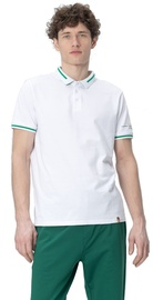 Audimas Cotton Polo Shirt White M