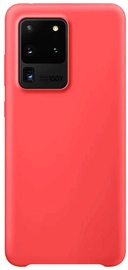 Hurtel Soft Flexible Rubber Back Case For Samsung Galaxy S20 Ultra Red
