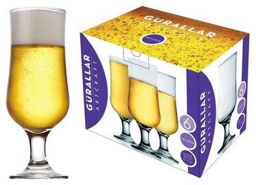LAV Beer Glass Set 37cl 6pcs