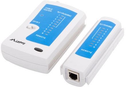 Lanberg Cable Tester for RJ-45 / RJ-11 / RJ-12 / Coaxial NT-0401