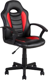 Home4you Work Chair Formula-1 Black / Red 27443