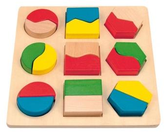 Woodyland Color Shape Puzzle Constructor 18pcs 90005