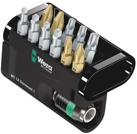 Wera Check 12 Universal 1 Bit Set 12pcs