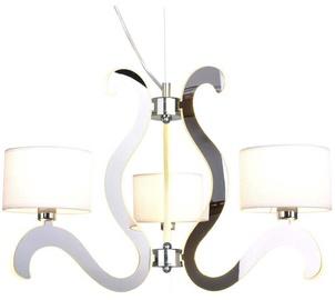 Candellux Ambrosia 3X40W E14 18.4W LED Hanging Ceiling Lamp Chrome