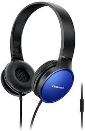 Panasonic RP-HF300ME-A On-Ear Headphones Blue