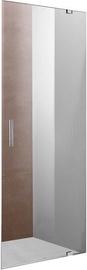Vento Napoli Shower Door 800x1950mm Transparent/Chrome