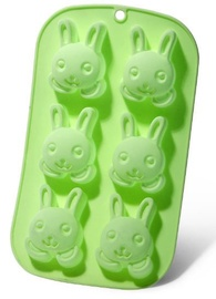 Fissman Cake Mould Rabbit 26x14.5x3cm 6 Cups