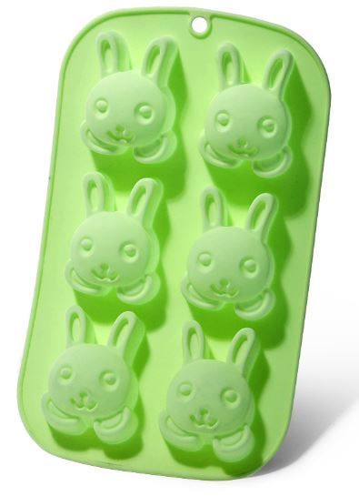 Fissman Cake Mould Rabbit 26x14.5x3cm 6 Cups