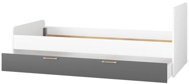 Lastevoodi Signal Meble Picolo 11/13 White/Grey, 211x174 cm