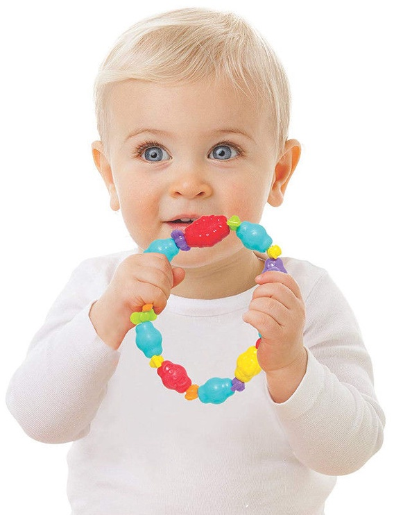 Playgro Jungle Friends Teething Ring 0186338
