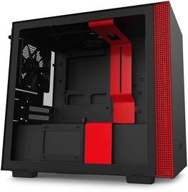 NZXT H210 mITX Black/Red