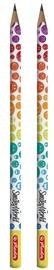 Herlitz Pencil 2-Pack SmileyWorld Rainbow 50001934