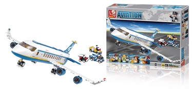 Sluban Aviation Passenger Plane Building Kit 463pcs M38-B0366